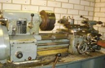 Lathe Leinen & Boley with Heidenhain digital readout